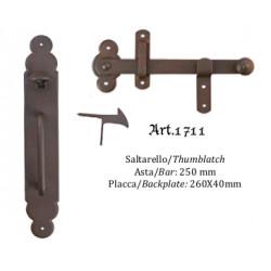 Kovaná závora s táhlem model 1711