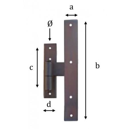 Kovaný pant model 1753