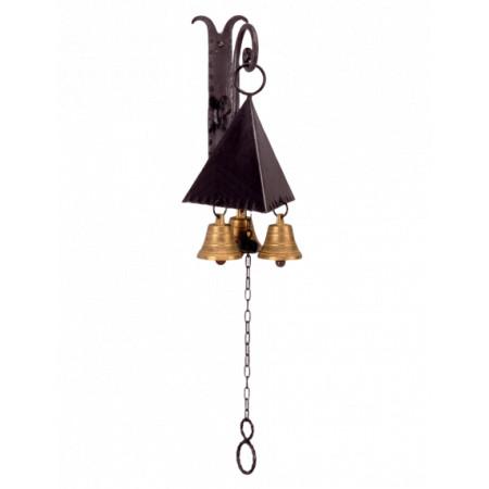 Kovaný zvonek na zeď model 3027