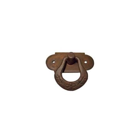 Kovaná nábytková úchytka kruhová model 038